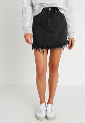 A SKIRT - Denimová sukně - graphite