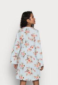 VILA PETITE - VIMESA SHORT DRESS PETITE - Day dress - cashmere blue - 2