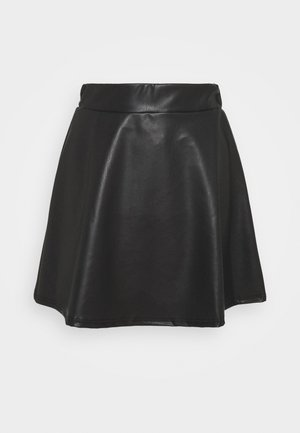 SKATER SKIRT - Minikjol - black
