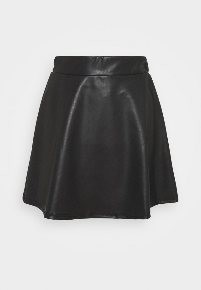 SKATER SKIRT - Minijupe - black