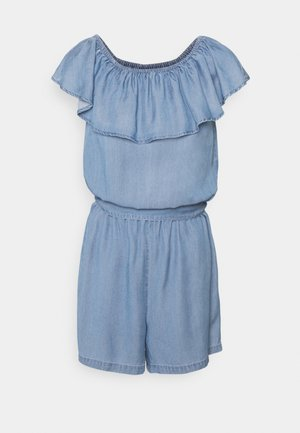 VMMIA FLOUNCE PLAYSUIT - Jumpsuit - light blue denim