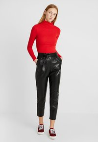 New Look - ROLL NECK - Maglietta a manica lunga - red - 1