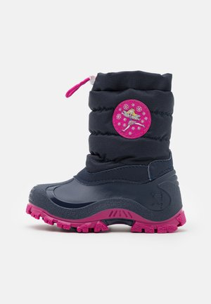 FAIRY - Winter boots - grey/pink