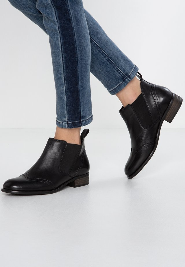 WIDE FIT - Ankle boot - black