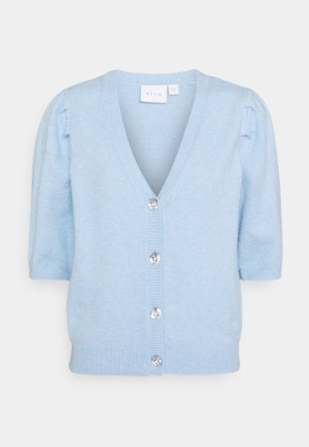 VISPARKLE CARDIGAN - Cardigan - blue