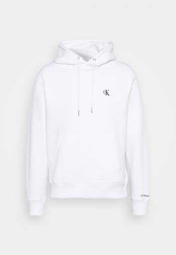 ESSENTIAL REGULAR HOODIE - Sweatshirt - bright white