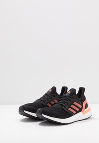 adidas Performance - ULTRABOOST 20  - Neutral running shoes - core black/signal coral/footwear white - 2