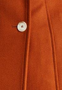 AKNVAS - MONA - Classic coat - rust - 7