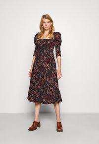 Diane von Furstenberg - NORA DRESS - Day dress - medium black - 1