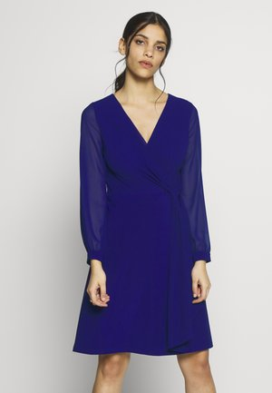 COOPER LONG SLEEVE DAY DRESS - Jersey dress - cannes blue