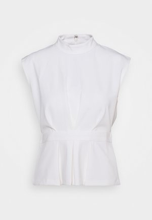 PLEATED WAIST  - T-shirt imprimé - cloud