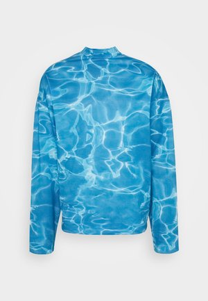 SWIMMING POOL - Long sleeved top - blue