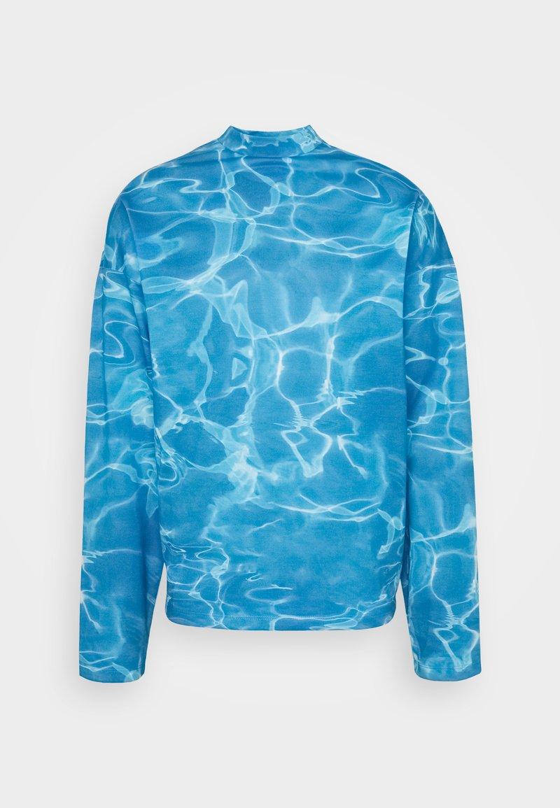 Jaded London - SWIMMING POOL - Maglietta a manica lunga - blue