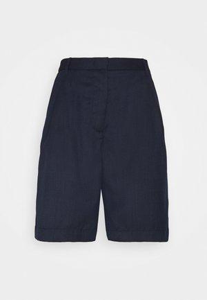 Shorts - blue melange