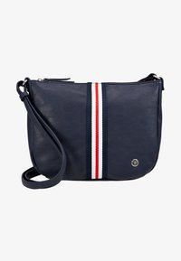 TOM TAILOR DENIM - RIMINI - Bandolera - dark blue - 1
