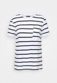 Marks & Spencer London - POCKET STRPE - Camiseta estampada - white - 0