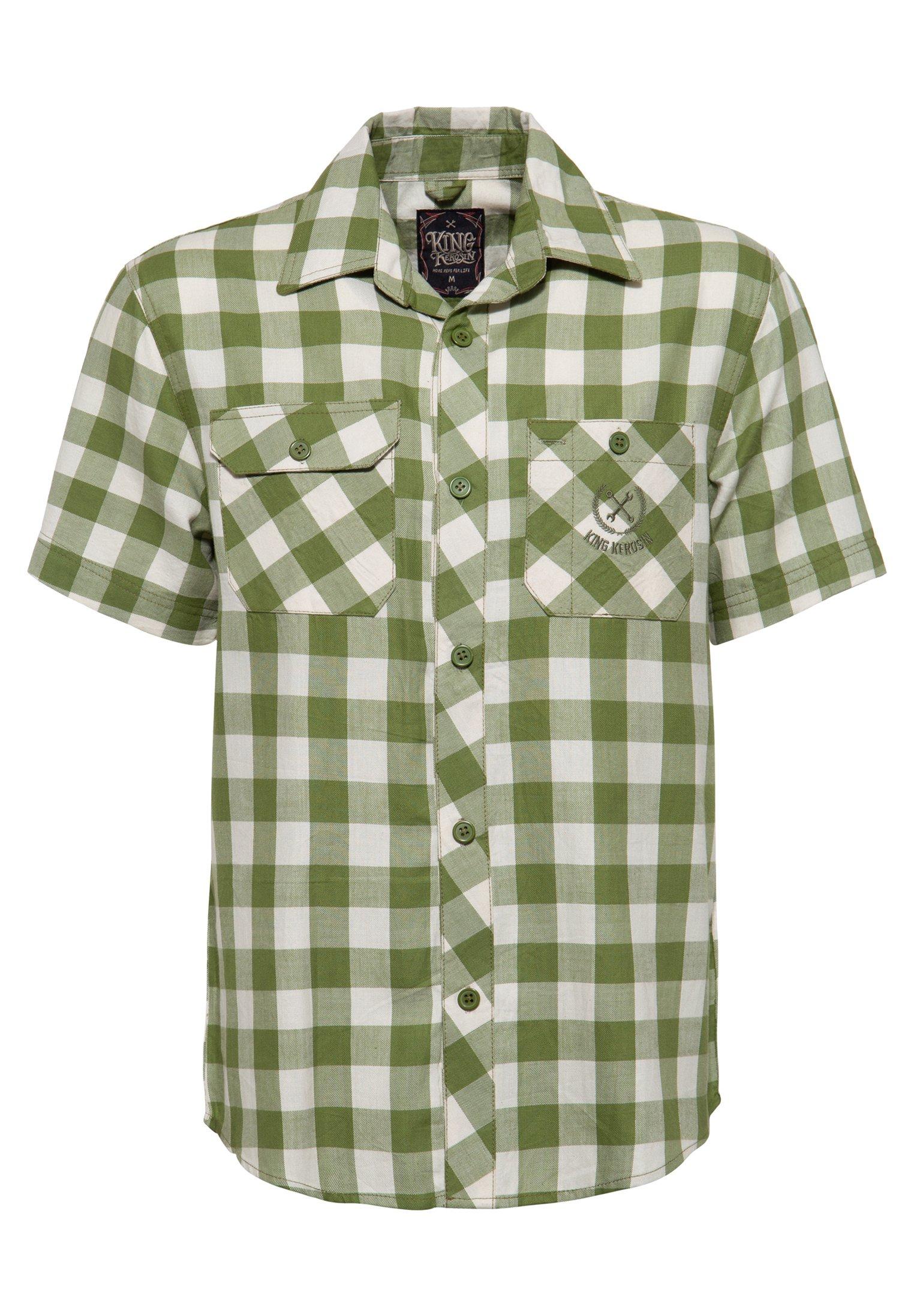 Herren MIT STICKEREI - Hemd