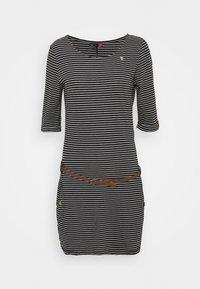 Ragwear - TANYA - Jersey dress - black - 5