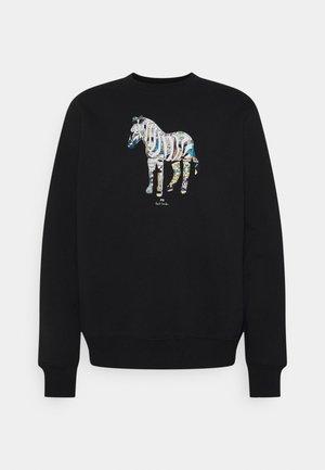 FIT ZEBRA UNISEX - Sweatshirt - black