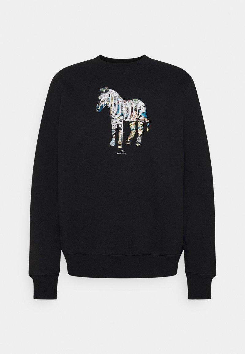 PS Paul Smith - FIT ZEBRA UNISEX - Sweatshirt - black