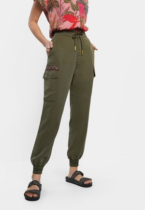 TRIBECA - Pantalon cargo - green