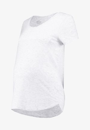 MATERNITY GYM TEE - Basic T-shirt - grey marle