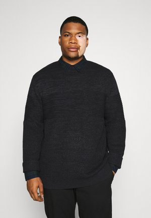 ONSLAZLO SOLID STRUC NECK - Jumper - black