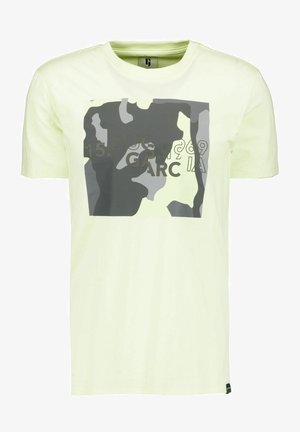 T-shirt con stampa - neon lime