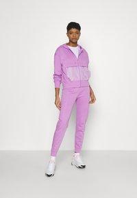 Nike Sportswear - Zip-up sweatshirt - violet shock/white - 1