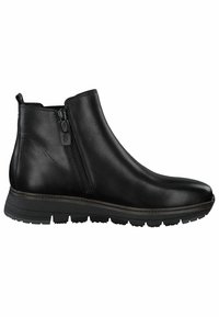 Tamaris Pure Relax - RELAXED FIT - Classic ankle boots - black leather - 4