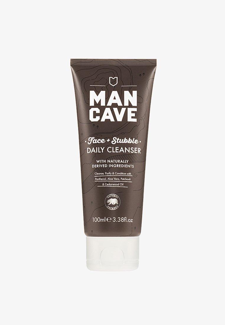 Man Cave - FACE + STUBBLE CLEANSER 100ML - Cleanser - -