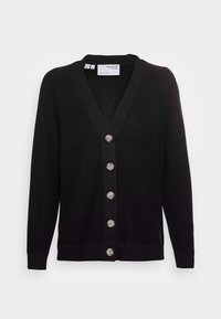 Selected Femme - SLFEMMY  BUTTONCARDIGAN  NOOS - Cardigan - black - 3