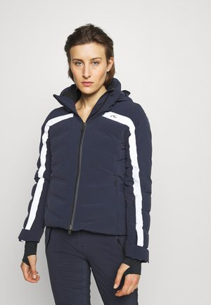 WOMEN MOMENTUM JACKET - Ski jas - deep space/white