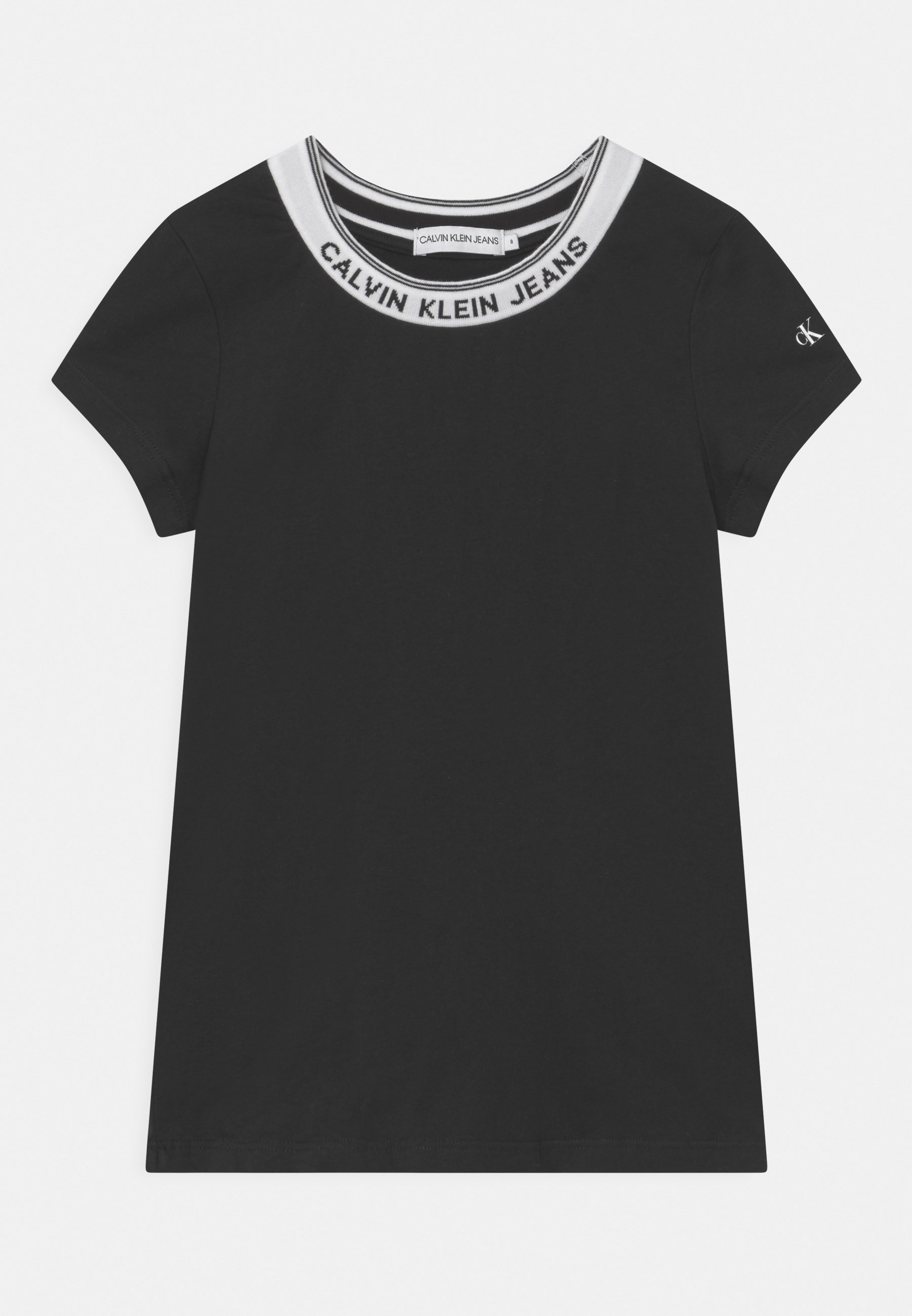Kids INTARSIA NECK LOGO  - Print T-shirt