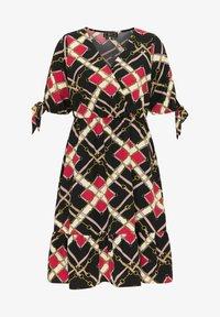 faina - Day dress - schwarz mehrfarbig - 4