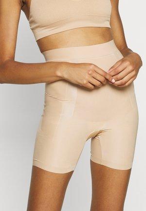 POWER PLAYERS HIGH WAIST GIRLSHORT FIRM CONTROL - Shapewear - beige