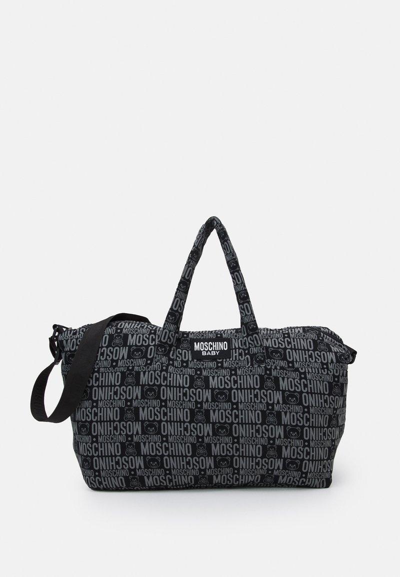 MOSCHINO - BABY CHANGING BAG - Across body bag - black