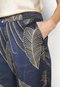Etam - BODINE PANTALON - Pyjama bottoms - marine - 5