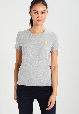 UMA - Print T-shirt - grey melange