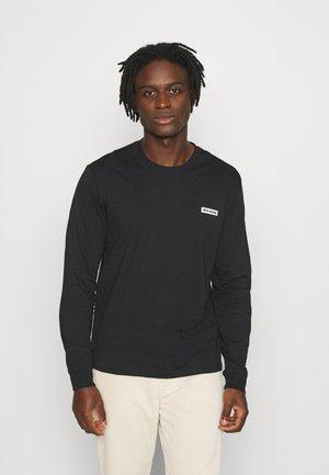 BOX - Bluzka z długim rękawem - black