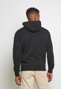 Nike Sportswear - CLUB HOODIE - Zip-up sweatshirt - black - 2