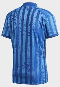 adidas Performance - Print T-shirt - blue - 9