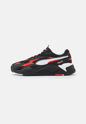 RS-X³ HARD DRIVE UNISEX - Zapatillas - black/poppy red