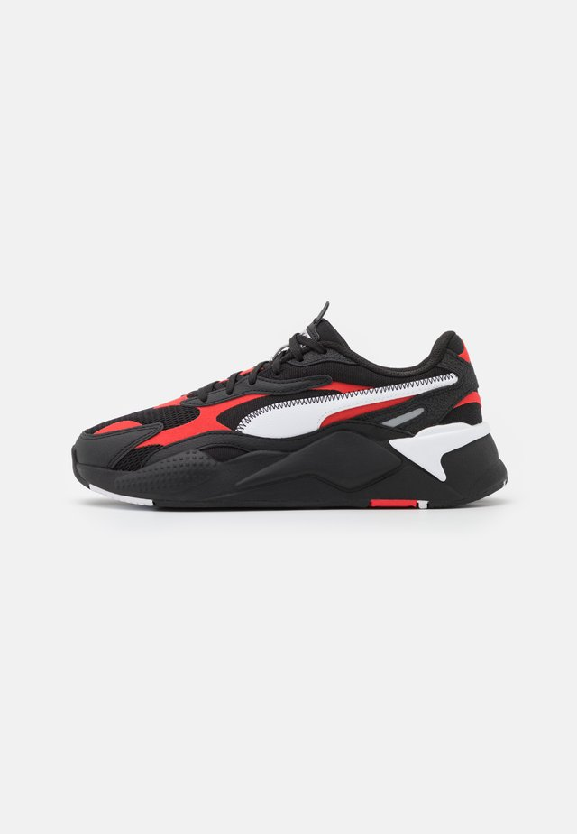 RS-X³ HARD DRIVE UNISEX - Sneakers laag - black/poppy red