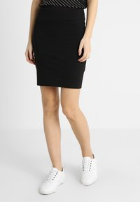 Kaffe - PENNY SKIRT - Pencil skirt - black - 0