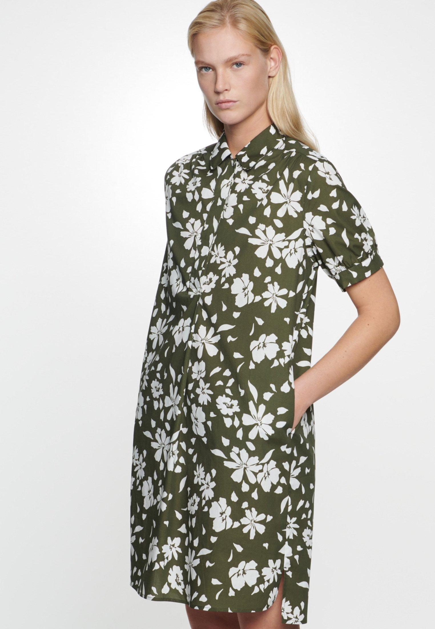Najwyżej oceniane Duża obniżka Seidensticker Sukienka koszulowa - green   Odzież damska 2020 GoWjw