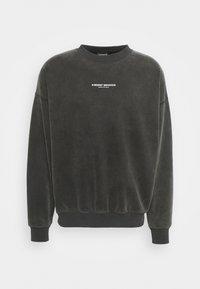 WRSTBHVR - FEARLESS SWEATER VINTAGE UNISEX - Sweatshirt - black - 0