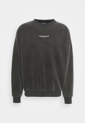FEARLESS SWEATER VINTAGE UNISEX - Sweatshirt - black