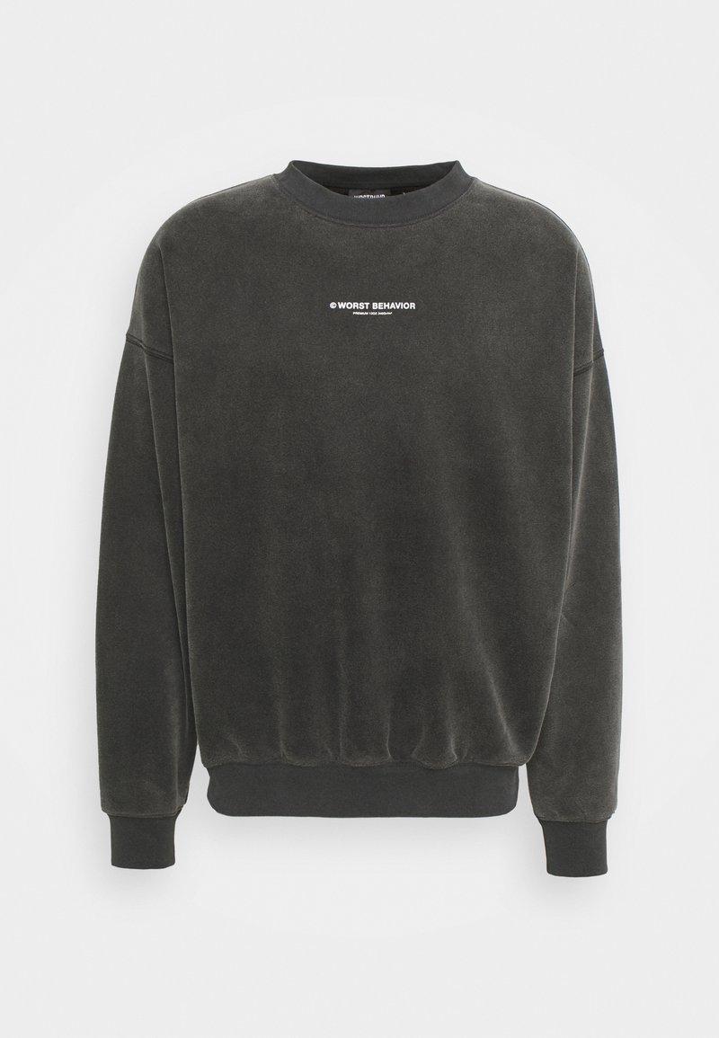 WRSTBHVR - FEARLESS SWEATER VINTAGE UNISEX - Sweatshirt - black