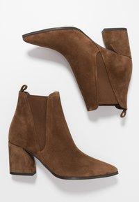 Kennel + Schmenger - AMBER - Boots à talons - castoro - 3